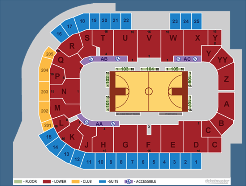 basketball seating