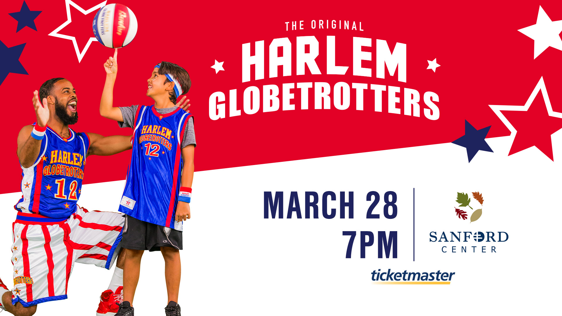 harlem globetrotters sanford center bemidji